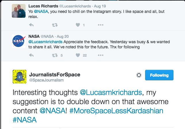 NASA SOCIAL TWITTER SS